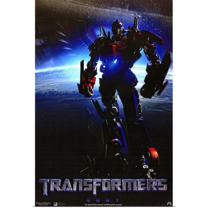 Shop Black Friday Deals On Transformers 2007 Poster Print Overstock 24130298