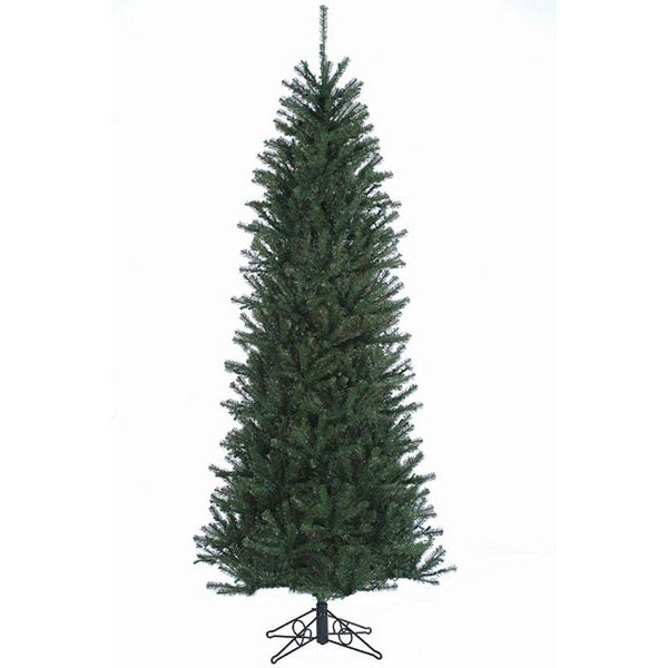 7.5' Slim Alexandria Pine Artificial Christmas Tree - Unlit