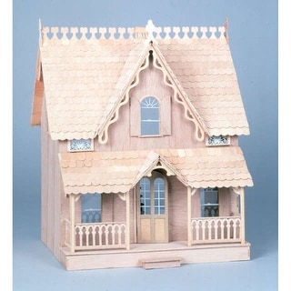 Greenleaf Dollhouse Kit-Arthur - Green
