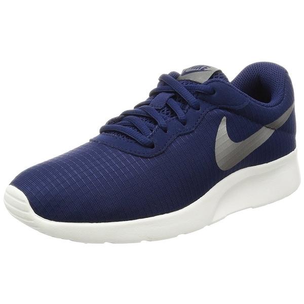 ede0f77ca039dc Shop Nike Tanjun Glacier Blue White Volt Women s Running Shoes ...