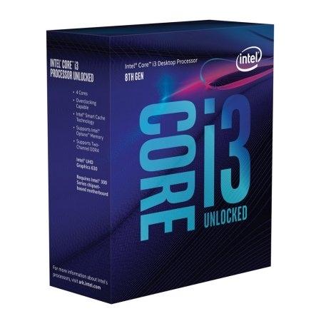 Intel - Intel Core I3-8350K 4.00 Ghz 8M Tray