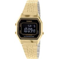 Casio Men's  Gold Metal Quartz Fashion Watch