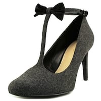 Nine West Womens Hollison Closed Toe T-Strap Classic Pumps