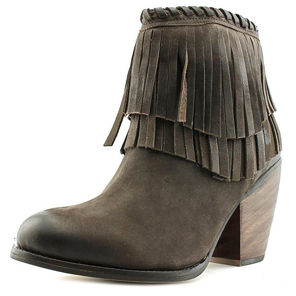 MTNG Farah Women  Round Toe Leather  Ankle Boot