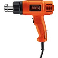 Black & Decker HG1300 Dual Temperature Lightweight Heat Gun, 1350W