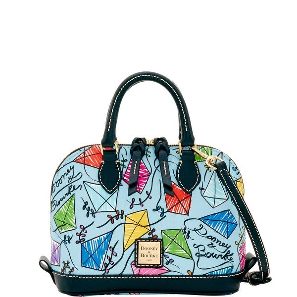 Dooney & Bourke Kite Bitsy Bag (Introduced by Dooney & Bourke at $178 in Dec 2016) - sky