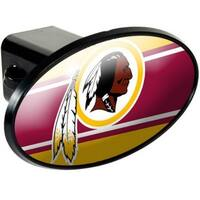 """Great American Products Washington Redskins Oval Trailer Hitch Cover Oval Trailer Hitch Cover"""
