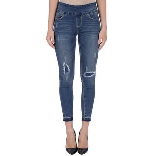 Lola jeans Julia-DSN, mid-rise Pull On ankle