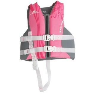 Coleman Child Hyrdroprene Life Vest Pink/Purple 2000019829