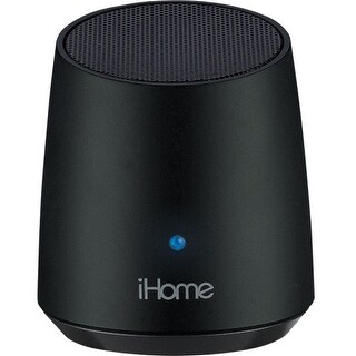 iHome IBT69BC iHome iBT69 Speaker System - 3 W RMS - Wireless Speaker(s) - Black - Bluetooth - USB - iPod Supported