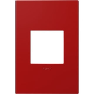 Legrand AWP1G2CH4 adorne 1 Gang Plastic Wall Plate - 4.56 Inches Wide