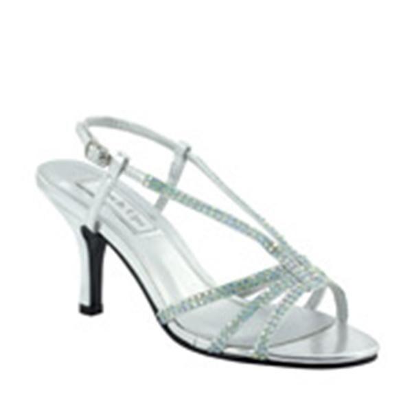 Embellished Low-Heel Slingback Sandal