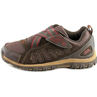Stride Rite Boys Osmond Leather Running Shoes - 12.5 wide (e)
