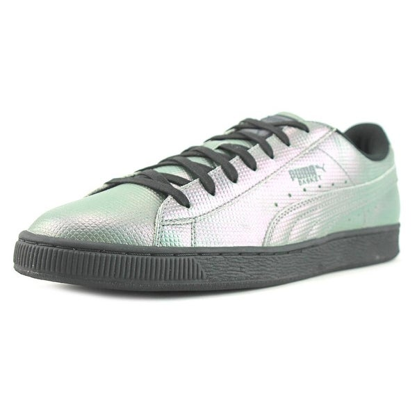 Puma Backet Classic Holographic Men Puma Black Sneakers Shoes