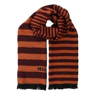 Missoni SC12WMU5078 0001 Orange Wool Blend Scarf