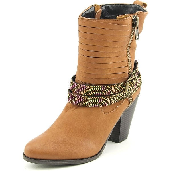 Dolce by Mojo Moxy Bandanna Women Round Toe Synthetic Ankle Boot