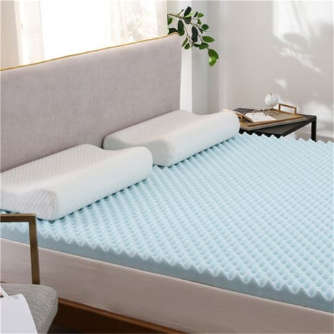 AOOLIVE 3 Inches Memory Foam Mattress-California King Size