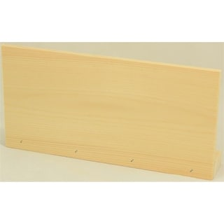 """1 Pc, Narrow Tabletop Sign 11 """" X 5.5 """" Perfect For Adding Painting, Advertising, Full Color Picture Or Art"""