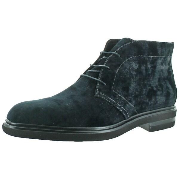 Donald J Pliner Ericio Men's Chukka Suede Boots