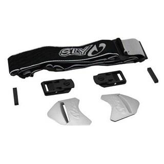 Sly Paintball Profit Series Goggles Strap Kit - Black/White