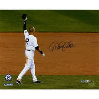 Derek Jeter Last Tip Cap 16x20 Photo