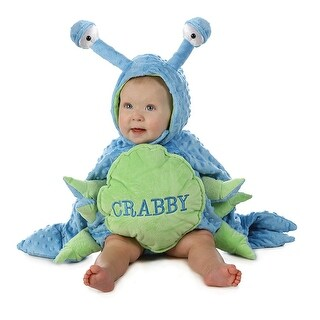 Crabby Toddler Costume - Blue