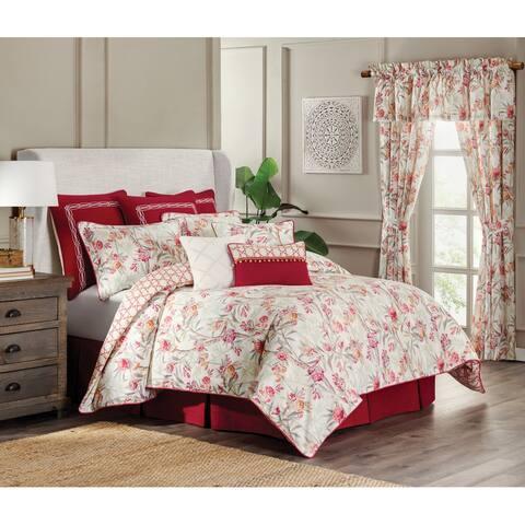 Islamorada 4 Piece Floral Comforter Set