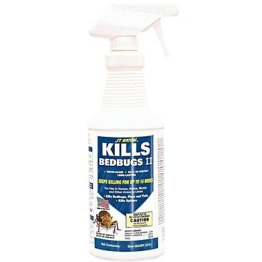 JT Eaton 207-W Kills Bedbugs II Insecticide Spray, Waterbased, 1 Quart