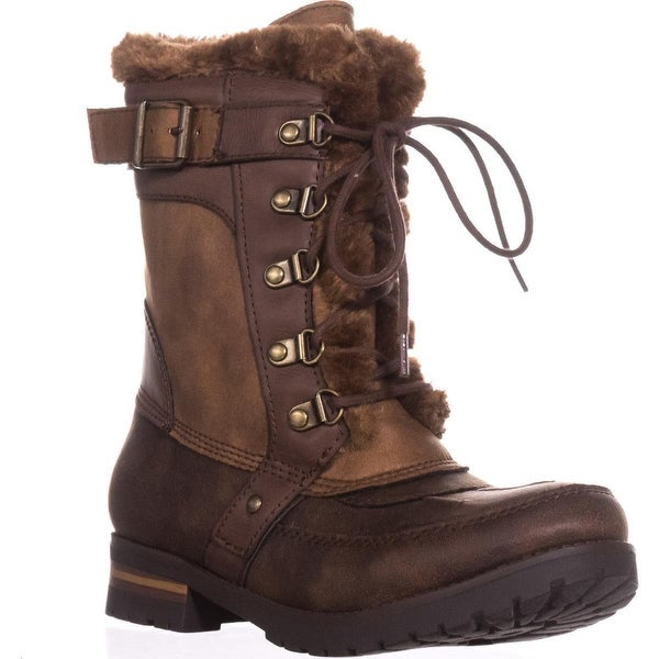 Rock & Candy Danlea Mid-Calf Winter Boots, Brown
