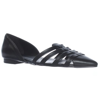 Cole Haan Jitney D'Orsay Loafer Flats - Black