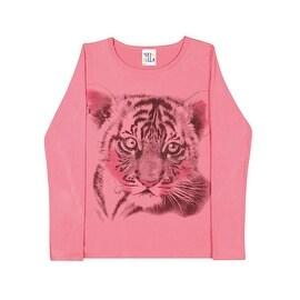 Tween Girls Long Sleeve Shirt Teen Graphic Tee Pulla Bulla Sizes 10-16 Years