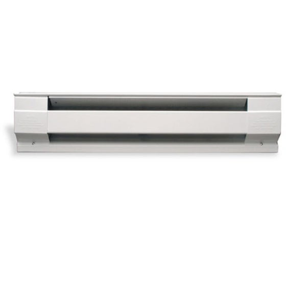 Cadet 4F1000W 4' 1000 Watt 240V Electric Baseboard Heater - White