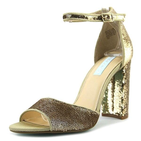 Betsey Johnson Calie Women Gold Sandals