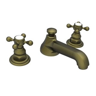 Newport Brass 920 Astor Double Handle Widespread Lavatory Faucet With Metal  Cross Handles