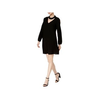 Signature By Robbie Bee Womens Petites Cocktail Dress Party Choker - ps