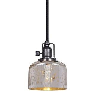 """JVI Designs 1200 S4-SR Shyra Single Light 5"""" Wide Mini Pendant"""