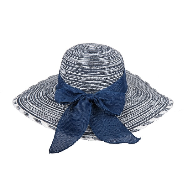 Shop Chic Headwear Floppy Sun Paper Braid Hat w  Ribbon - One Size - Free  Shipping On Orders Over  45 - Overstock.com - 27078267 3cefebdec7e8