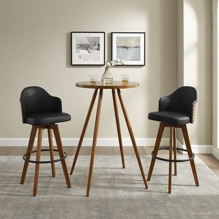 Link to Carson Carrington Cullybackey 3-piece Cocktail Pub Table Set Similar Items in Dining Room & Bar Furniture