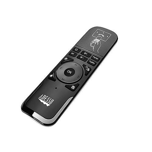 Adesso Slimtouch Air Mouse Universal Remote Black Wkb-4010Ub