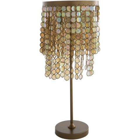 """Blanche 29"""" Glam Table Lamp - 29""""H x 12""""W x 12""""D"""