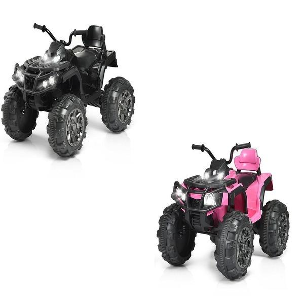 Shop Costway 12V High-end Kids ATV Quad 4 Wheeler Ride On