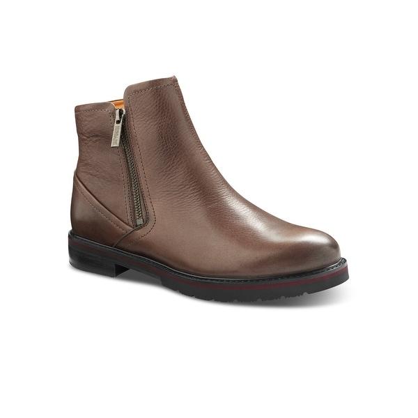 Samuel Hubbard City Zipper Women's Chukka Boot - Taupe Leather. Opens flyout.