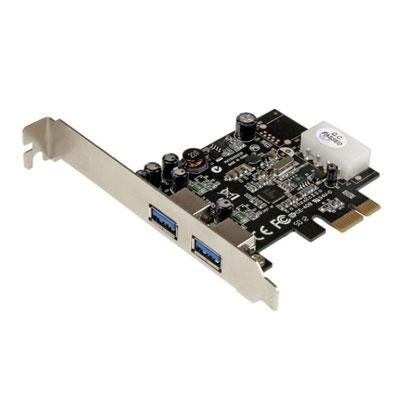 Startech Pexusb3s25 2 Port Pci Express Superspeed Usb 3.0 Card Adapter With Uasp