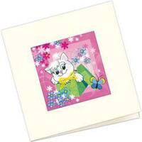 "5.5""X5.5"" - Gift Card Stamped Cross Stitch Kit"