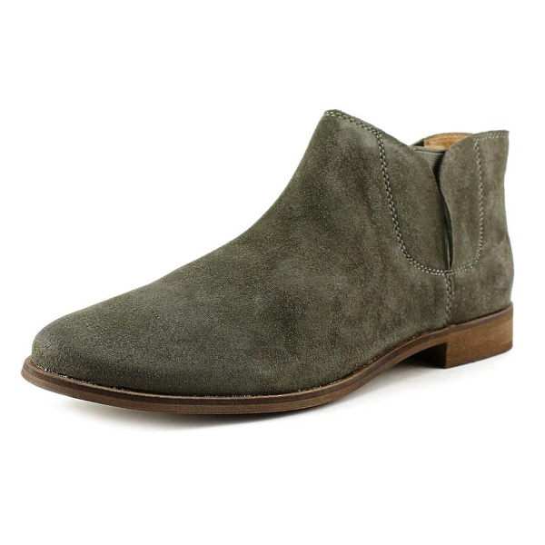 Splendid Paddy Women  Round Toe Suede Gray Ankle Boot