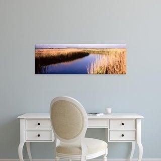 Easy Art Prints Panoramic Images's 'Ringkobing Fjord, Jutland, Denmark' Premium Canvas Art