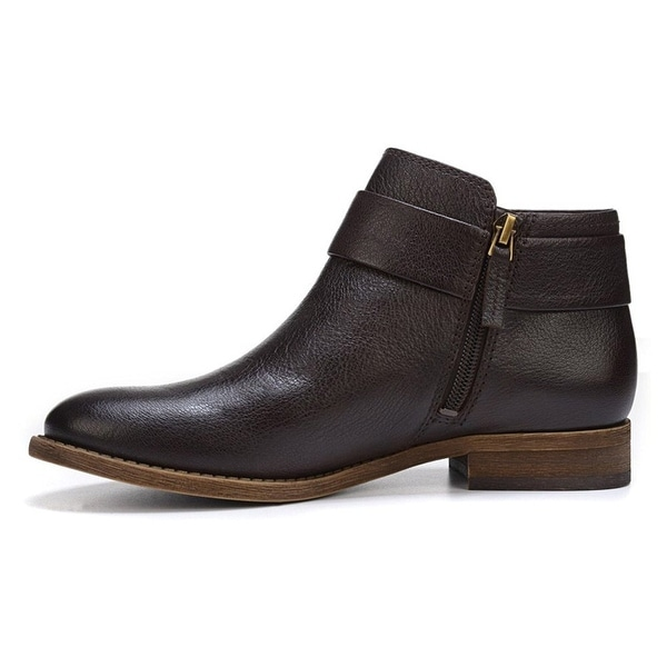 Franco Sarto Womens Holmes Leather Closed Toe Ankle Fashion Boots