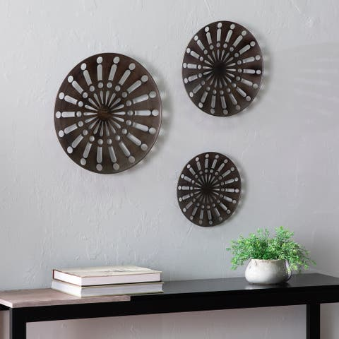 Carbon Loft Welton Round Wall Art (Set of 3)