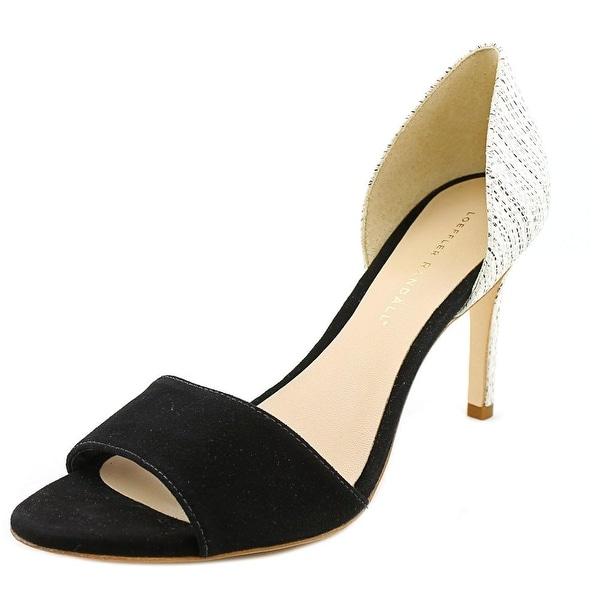 Loeffler Randall Char-Kse Women Open-Toe Leather White Heels