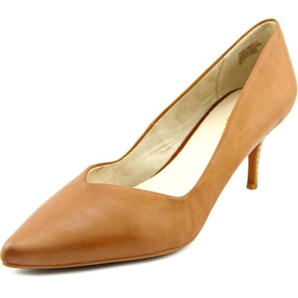 Seychelles Leap Women Pointed Toe Leather Tan Heels